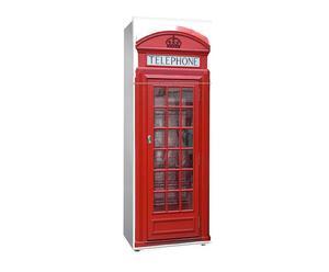 "Naklejka na lodówkę ""Red Phone"""