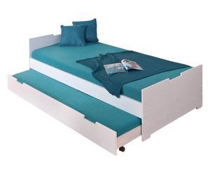 """Rama łóżka """"Otta"""", turkusowe"""