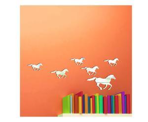 "Naklejka ścienna lustrzana ""Horses"""