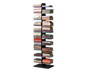 """Biblioteczka """"Bice"""", czarna, 158 x 30 x 42 cm"""