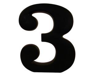 """Cyfra dekoracyjna """"3"""""""