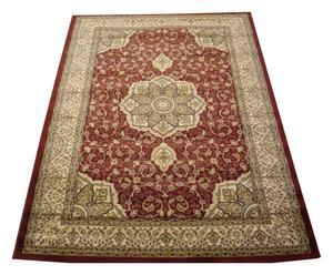 Tappeto Kashan rosso bordeaux - 300x400 cm