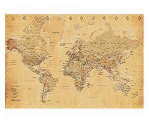 "Fototapeta ""Old Map II"""