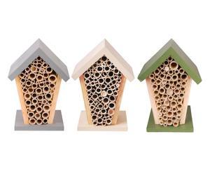 """Zestaw 3 domków dla pszczół """"Colori"""""""