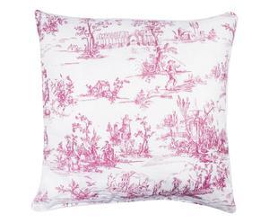 """Poduszka """"Barok"""", różowa"""