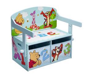 """Ławka dziecięca ze schowkami """"Winnie the Pooh"""""""