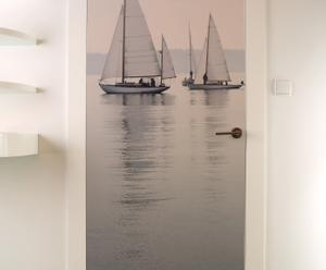 """Fototapeta na drzwi """"Sails"""" 80 x 200 cm"""