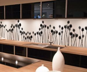 """Fototapeta kuchenna """"White&Black"""", 300 x 65 cm"""