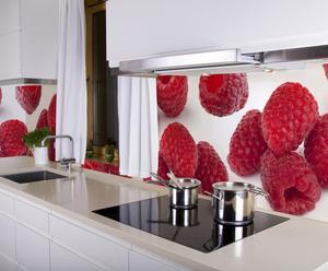 """Fototapeta kuchenna """"Raspberry"""", 250 x 65 cm"""