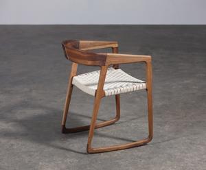 """Krzesło """"Tesa"""", orzechowe"""