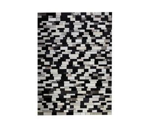 """Dywan """"Composition"""" 140 x 200 cm, czarno-biały"""