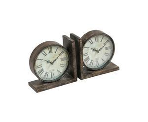 Zegary-podpórki do książek La Romance de Paris