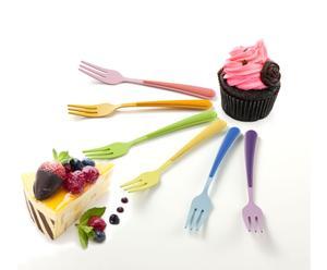 Zestaw 6 widelczyków deserowych