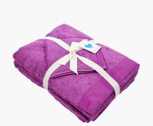 """Zestaw trzech ręczników """"Lavenda"""""""