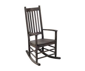 """Krzesło bujane """"Rockie"""", grafitowe"""