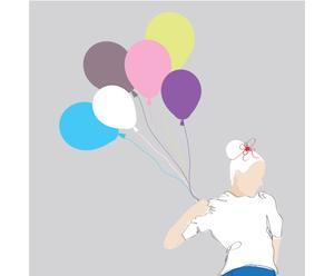 "Grafika na płótnie ""Baloon"" – Mateusz Suda"
