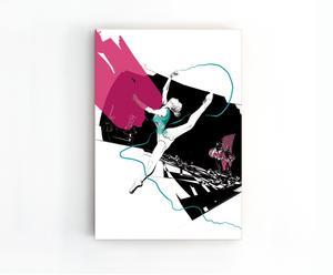 "Grafika ""Ballet"", 70 x 100 cm"