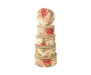 """Zestaw 5 pudełek na kapelusze """"Toscana"""""""