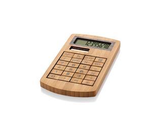 Kalkulator bambusowy