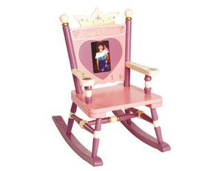 """Małe krzesełko bujane """"Always a Princess"""""""