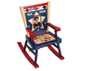 """Małe krzesełko bujane """"All Star Sports"""""""