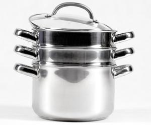 Prestige - Speciality Items - 3 piętrowy garnek do gotowania na parze