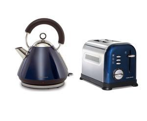 """Czajnik i toster """"Accents"""", niebieskie"""