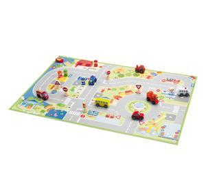 "Puzzle ""City"" z figurkami"