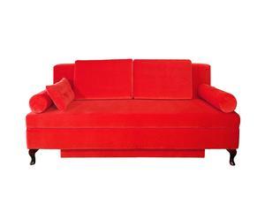 """Sofa rozkładana """"Versal"""", czerwona"""