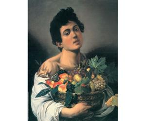 """Obraz """"Ragazzo con cesto di frutta"""" – Caravaggio"""