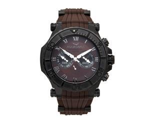 """Zegarek męski """"Bolt 5H"""", czarno-brązowo-biały"""