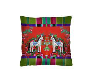 """Poszewka na poduszkę """"Folk Horses"""""""