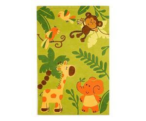 """Dywan """"Kids Jungle II"""", zielony"""