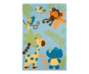 "Dywan ""Kids Jungle II"", niebieski"