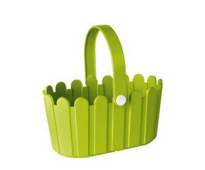 """Koszyk """"Landhouse"""", zielony"""