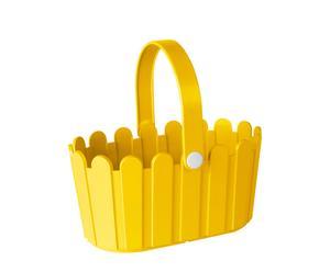 """Koszyk """"Landhouse"""", żółty"""