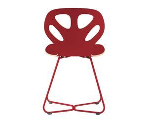 """Krzesło """"Maple II"""", czerwone"""