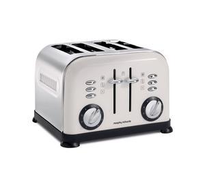 "Toster na 4 tosty ""Accents"", biały"