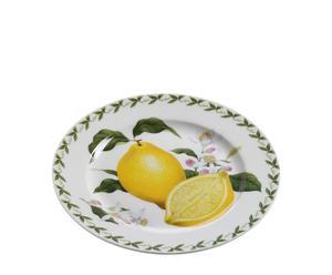 "Talerz ""Orchard Fruits Lemon"""