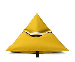 """Fotel-siedzisko """"Ovni"""", żółty"""