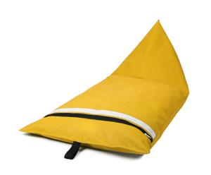 """Szezlong-siedzisko """"Kanb"""", żółty"""