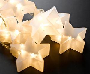 "Girlanda świetlna ""Evelyn Stars"", biała"