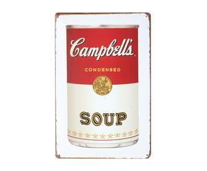 "Grafika na metalu ""Campbell's"""