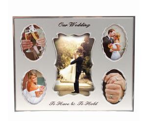 """Ramka na zdjęcia """"Our Wedding"""", 21 x 26 cm"""