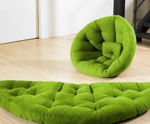 """Futon """"Nido"""", zielony"""