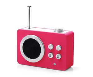"Radio ""Mini Dolmen"", różowe"