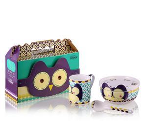 """Zestaw naczyń dla dziecka """"Happy Owl"""""""