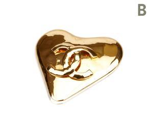 """Broszka """"Gold-Tone Heart"""""""