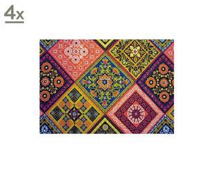 """Zestaw 4 podkładek """"Carpet mosaic"""""""
