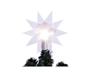 """Gwiazdka LED-owa na szczyt choinki """"Clear Star"""""""